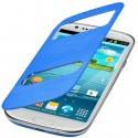 Pouzdro flip S-view pro Samsung Galaxy S3 mini - modré