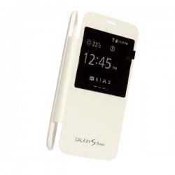 Flipové pouzdro S-view Samsung Galaxy S5 mini - bílé
