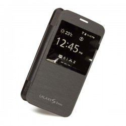 Flipové pouzdro S-view Samsung Galaxy S5 mini - černé