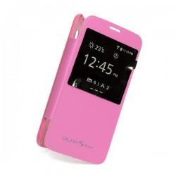 Flipové pouzdro S-view Samsung Galaxy S5 mini - růžové