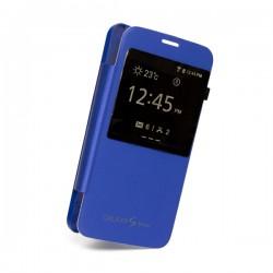 Flipové pouzdro S-view Samsung Galaxy S5 mini - modré