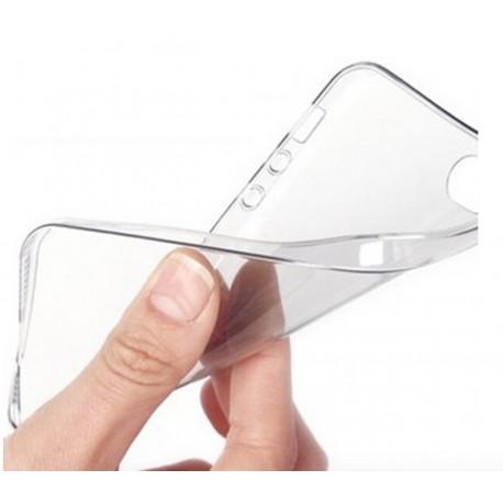 Ultratenký silikonový kryt pro Apple iPhone 5/5S/SE - průhledný