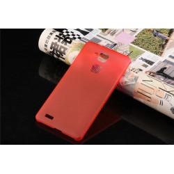 Ultratenký kryt pro Huawei Mate7 červený