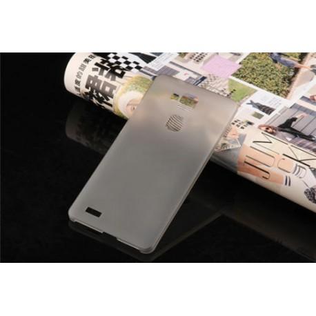 Ultratenký kryt pro Huawei Mate7 šedý