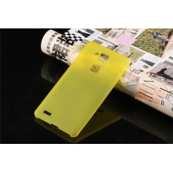 Ultratenký kryt pro Huawei Mate7 žlutý