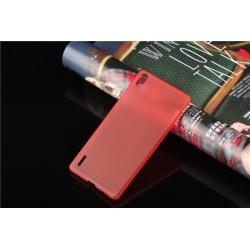Ultratenký kryt pro Huawei P7 červený