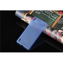 Ultratenký kryt pro Huawei P7 modrý