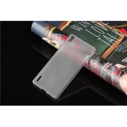 Ultratenký kryt pro Huawei P7 šedý