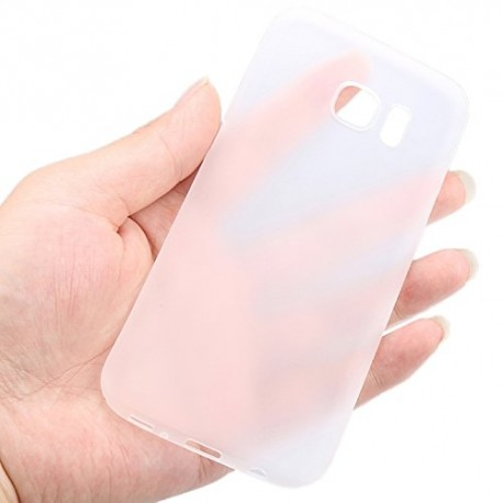 Ultratenký kryt pro Samsung Galaxy S7 Edge bílý