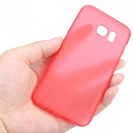 Ultratenký kryt pro Samsung Galaxy S7 Edge červený