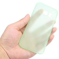 Ultratenký kryt pro Samsung Galaxy S7 Edge zelený