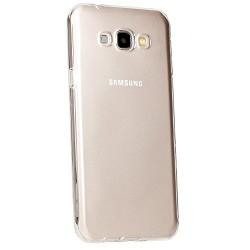 Silikonový kryt pro Samsung Galaxy A8 - průhledný