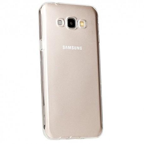 Ultratenký silikonový kryt pro Samsung Galaxy A8 - průhledný