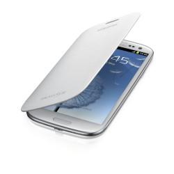 Flipové pouzdro Samsung Galaxy S3 - bílé