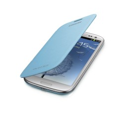 Flipové pouzdro Samsung Galaxy S3 - modré