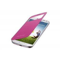 Flipové pouzdro S-view Samsung Galaxy S4 - růžové
