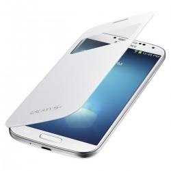 Flipové pouzdro S-view Samsung Galaxy S4 - bílé