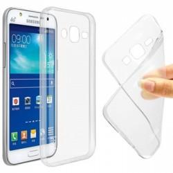 Silikonový kryt pro Samsung Galaxy J7 - průhledný