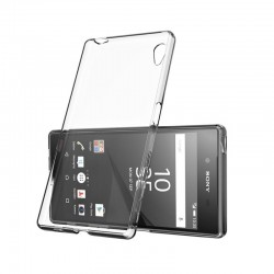 Ultratenký silikonový kryt pro Sony Xperia Z5 - průhledný