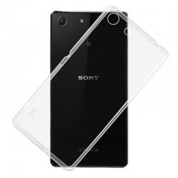Ultratenký silikonový kryt pro Sony Xperia M5 - průhledný