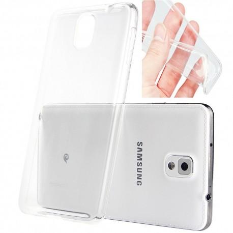 Ultratenký silikonový kryt pro Samsung Galaxy Note 3 - průhledný