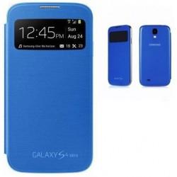Flipové pouzdro S-view Samsung Galaxy S4 mini - modré