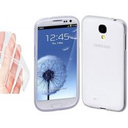 Silikonový kryt pro Samsung Galaxy S4 mini - průhledný