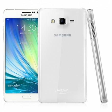 Ultratenký silikonový kryt pro Samsung Galaxy J3 (2016) průhledný
