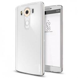 Silikonový kryt pro LG V10 průhledný