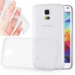 Silikonový kryt pro Samsung Galaxy S5 mini - průhledný
