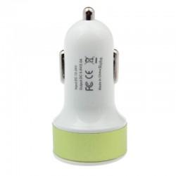 InHouse auto USB nabíječka zelená