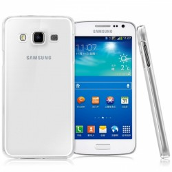 Silikonový kryt pro Samsung Galaxy A3 - průhledný