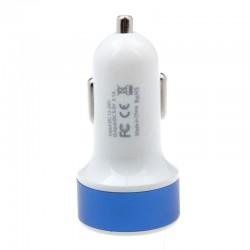 InHouse auto USB nabíječka modrá