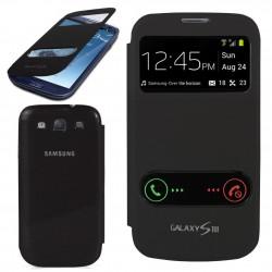 Pouzdro flip S-view pro Samsung Galaxy S3 - černé