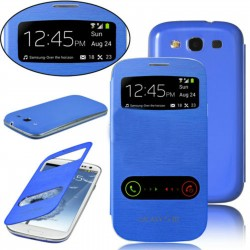 Pouzdro flip S-view pro Samsung Galaxy S3 - modré