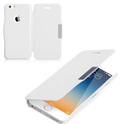 Flipové pouzdro Apple iPhone 5/5S/SE - bílé
