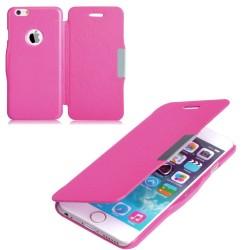 Flipové pouzdro Apple iPhone 5/5S/SE - růžové