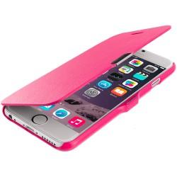 Flipové pouzdro Apple iPhone 6/6S - růžové