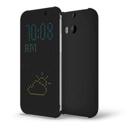 Pouzdro DOT VIEW HTC One M8 černé