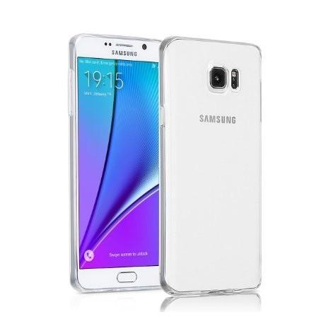 Ultratenký silikonový kryt pro Samsung Note 5 - průhledný