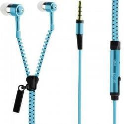Zipová sluchátka modré