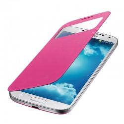 Flipové pouzdro S-View Samsung Galaxy S4 mini - růžové
