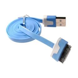 Kabel 30pin datový a nabíjecí modrý 1M