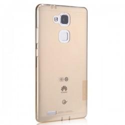 Silikonový kryt pro Huawei Mate 7 mini - průhledný