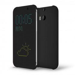 Pouzdro DOT VIEW HTC One M9 Plus černé