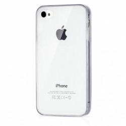 Silikonový kryt pro Apple iPhone 4/4S - průhledný