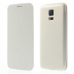 Flipové pouzdro Samsung Galaxy S5 mini - bílé