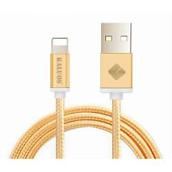 Kaluos datový kabel pro Apple 2m zlatý