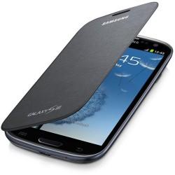 Flipové pouzdro Samsung Galaxy S3 - šedé