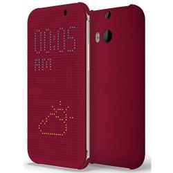 Pouzdro DOT VIEW HTC One M8 fialové